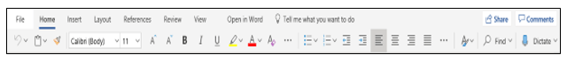 Microsoft Word Web App Screenshot 2