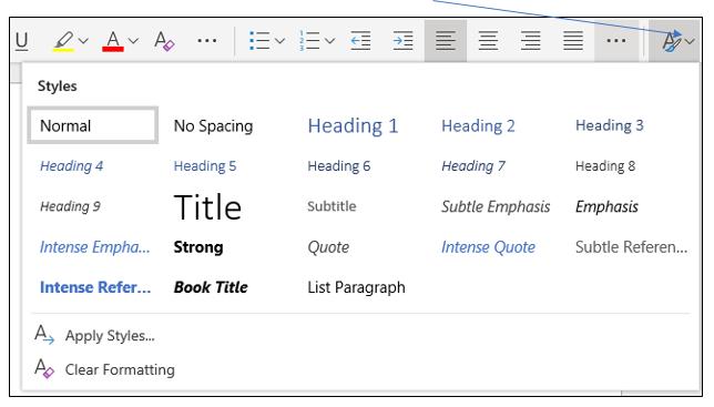 Microsoft Word Web App Screenshot 4