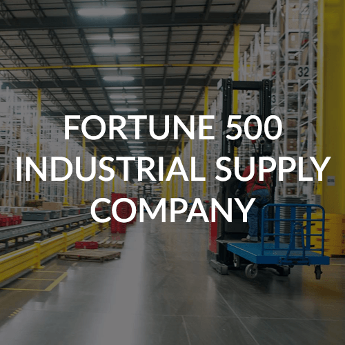 Fortune 500 Industrial Supply Company Teams Case Study