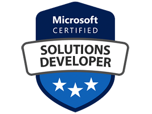 MICROSOFT CERTIFIED-Solutions Developer