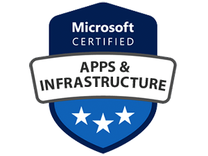 MICROSOFT CERTIFIED-Apps and Infrastructure